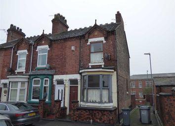 Thumbnail 2 bed end terrace house for sale in Thorndyke Street, Shelton, Stoke-On-Trent