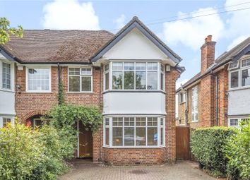 Thumbnail 4 bed semi-detached house for sale in Belmont Lane, Stanmore, Middlesex