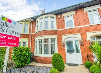 Thumbnail 4 bed terraced house for sale in Pantbach Road, Rhiwbina, Cardiff