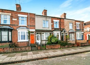 Thumbnail 2 bed terraced house for sale in Knighton Fields Road East, Leicester