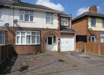 Thumbnail 4 bed semi-detached house for sale in Willow Park Drive, Wigston, Leicester