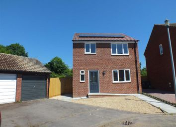 Thumbnail 3 bed detached house to rent in Phipps Close, Westbury, Wiltshire