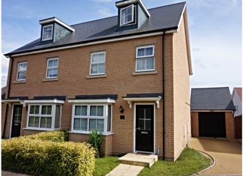Thumbnail 3 bedroom semi-detached house for sale in Matilda Groome Road, Ipswich