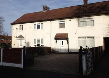 Thumbnail 3 bed terraced house to rent in Crowland Road, Manchester