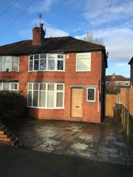 Thumbnail 4 bed semi-detached house to rent in Parsonage Road, Withington, Manchester