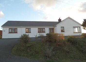 Thumbnail 4 bed detached bungalow for sale in Ffordd Y Goetre, Aberaeron