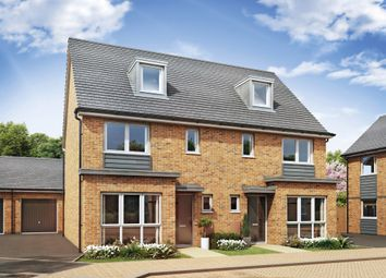 Thumbnail 4 bed town house for sale in Cadet Drive, Shirley, Solihull
