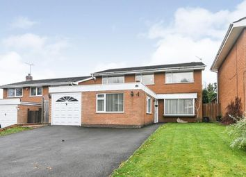 Thumbnail 4 bed detached house for sale in Compton Close, Southcrest, Redditch, Worcestershire