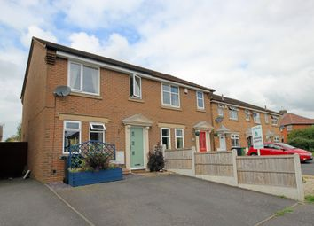 Thumbnail 3 bed semi-detached house for sale in Thoresby Close, Ripley