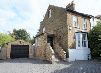 Thumbnail 4 bed semi-detached house for sale in Aldenham Road, Bushey