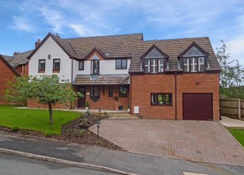 Thumbnail 4 bed detached house for sale in Parkwood Drive, Baldwins Gate, Newcastle-Under-Lyme