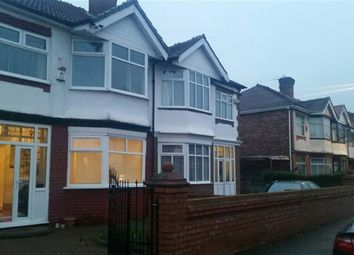 Thumbnail 4 bedroom semi-detached house to rent in Manley Road, Chorlton Cum Hardy, Manchester