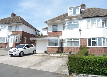 Thumbnail 4 bed semi-detached house for sale in Crossfield Road, Barry