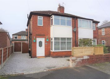 Thumbnail 3 bed semi-detached house for sale in Irlam Avenue, Manchester