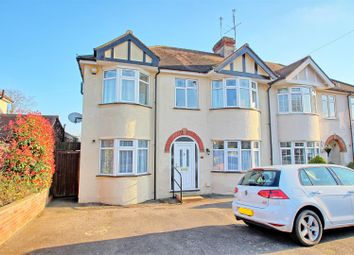 Thumbnail 5 bed semi-detached house for sale in Fanshawe Crescent, Ware