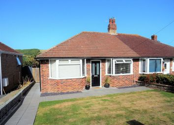 Thumbnail 3 bed semi-detached bungalow for sale in Vale Walk, Findon Valley, Worthing