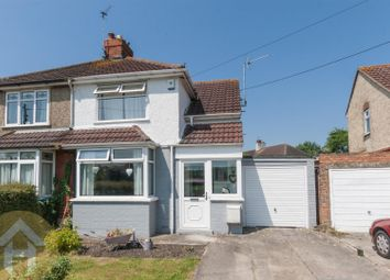 Thumbnail 2 bedroom semi-detached house for sale in Moormead Road, Wroughton, Swindon