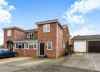 Thumbnail 3 bed semi-detached house for sale in Grebe Close, Flitwick, Bedford, Bedfordshire