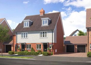 Thumbnail 4 bed semi-detached house for sale in Cresswell Park, Roundstone Lane, Angmering