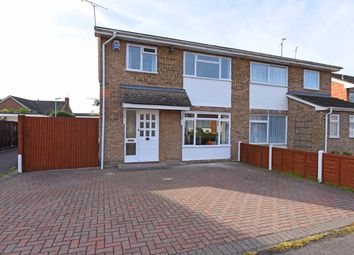 Thumbnail 3 bed semi-detached house to rent in Charwood Road, Wokingham