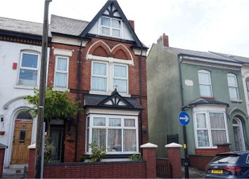 Thumbnail 5 bedroom semi-detached house for sale in Hampton Road, Birmingham