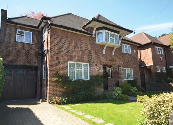 Thumbnail 6 bed detached house to rent in Cedars Close, London