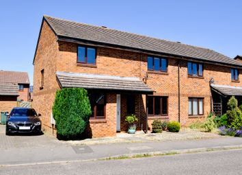 Thumbnail 3 bed semi-detached house for sale in Thompson Drive, Caversfield, Bicester