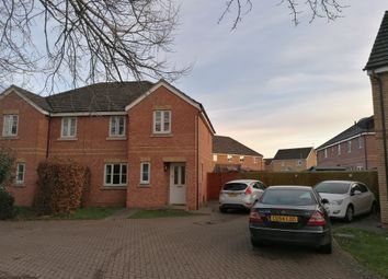 Thumbnail 3 bedroom semi-detached house for sale in Saddlers Way, Hereford
