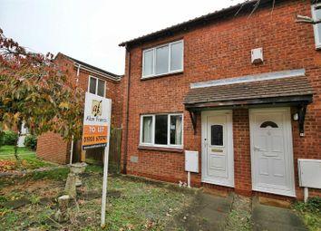 Thumbnail 2 bedroom end terrace house to rent in Simonsbath, Furzton, Milton Keynes