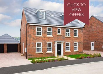 "Thumbnail 5 bed detached house for sale in ""Buckingham"" at Woodcock Square, Mickleover, Derby"