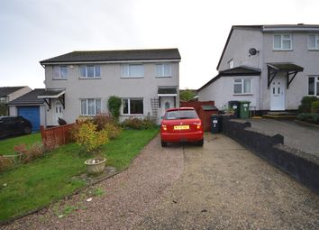 Thumbnail 3 bed semi-detached house to rent in Little Week Road, Dawlish