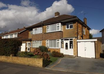 Thumbnail 3 bed semi-detached house for sale in Langford Drive, Luton, Bedfordshire