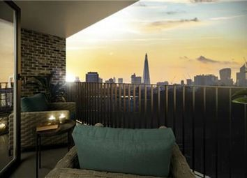 Thumbnail 2 bed flat for sale in Legacy Wharf, City Court, London