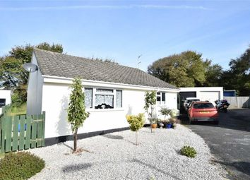 Thumbnail 3 bed detached bungalow for sale in Hallett Way, Bude