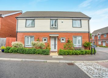 Thumbnail 4 bed detached house for sale in Heron Road, Costessey, Norwich