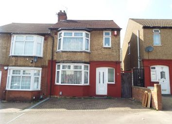 Thumbnail 2 bedroom semi-detached house for sale in Beverley Road, Luton, Bedfordshire