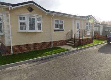 Thumbnail 2 bed mobile/park home for sale in Eastern Avenue, Penton Park, Chertsey