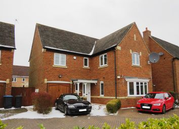 Thumbnail 4 bed detached house for sale in Brocket Place, Cawston, Rugby