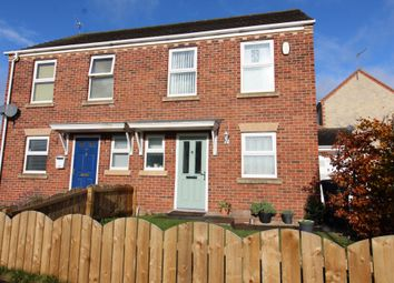 Thumbnail 2 bed semi-detached house for sale in Esh Wood View, Ushaw Moor, Durham
