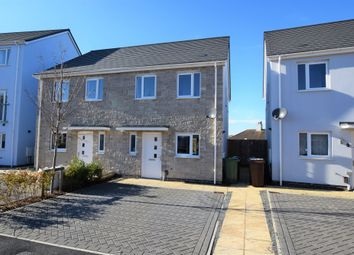 Thumbnail 2 bed semi-detached house for sale in Wordsworth Crescent, North Prospect, Plymouth