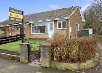 Thumbnail 2 bedroom semi-detached bungalow for sale in Apedale Road, Chesterton, Newcastle-Under-Lyme