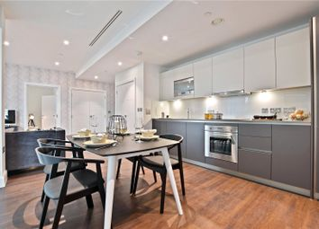 Thumbnail 1 bed flat for sale in Laker Court, 39 Harbour Way, London