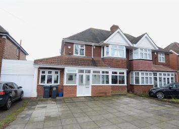 Thumbnail 3 bed semi-detached house for sale in Douglas Avenue, Hodge Hill, Birmingham