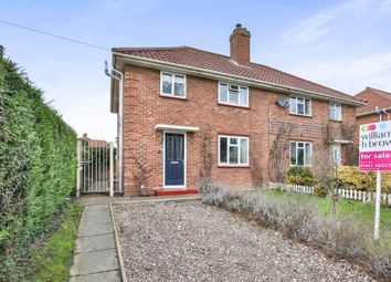 Thumbnail 3 bed semi-detached house for sale in Pople Street, Wymondham