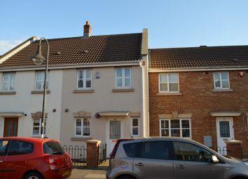 Thumbnail 2 bed terraced house for sale in Merton Drive, Weston Village, Weston-Super-Mare
