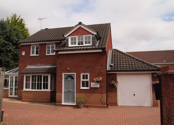 Thumbnail 3 bed detached house for sale in Weir Road, Kibworth, Leicester