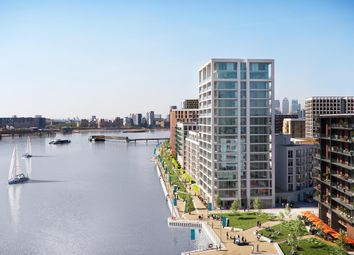 Thumbnail 2 bed flat for sale in 12.04.06 Park View Place, Royal Wharf, London