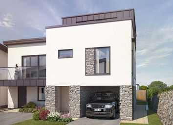 "Thumbnail 3 bed semi-detached house for sale in ""The Godrevy"" at Welway, Perranporth"