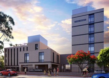 Thumbnail 1 bed flat for sale in Crosby Gardens, Crosby Road North, Waterloo, Liverpool 0Ny, Liverpool