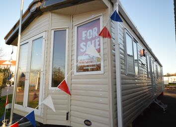 Thumbnail 3 bedroom mobile/park home for sale in Broadland Sands Holiday Park, Coast Road, Corton, Lowestoft